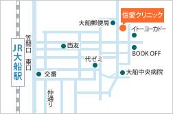 地図:徒歩